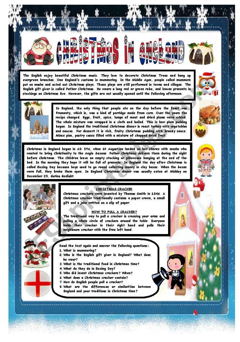 Christmas Around The World - Part 4 - England (B&w Version