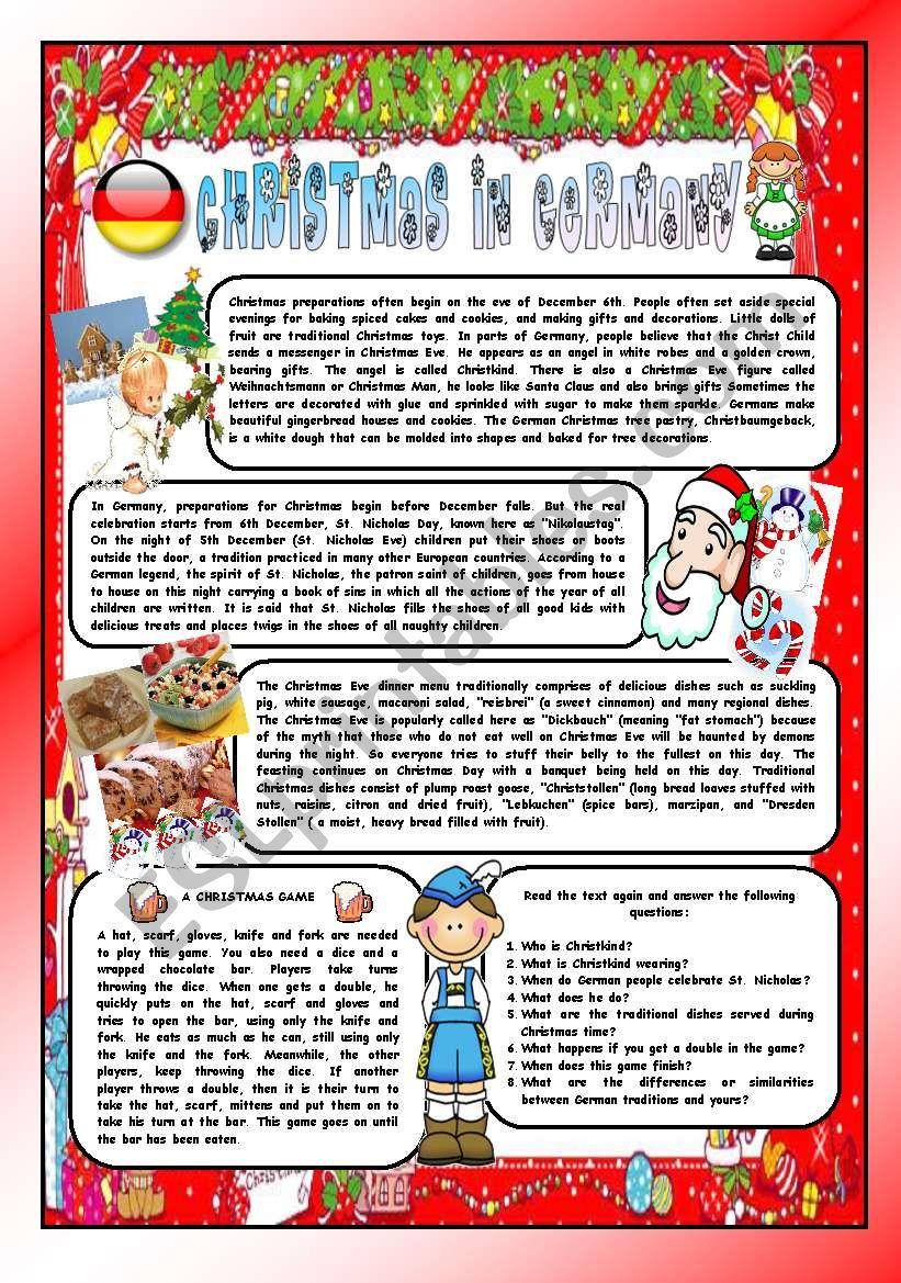 Christmas Around The World - Part 8 – Germany (B&w Version