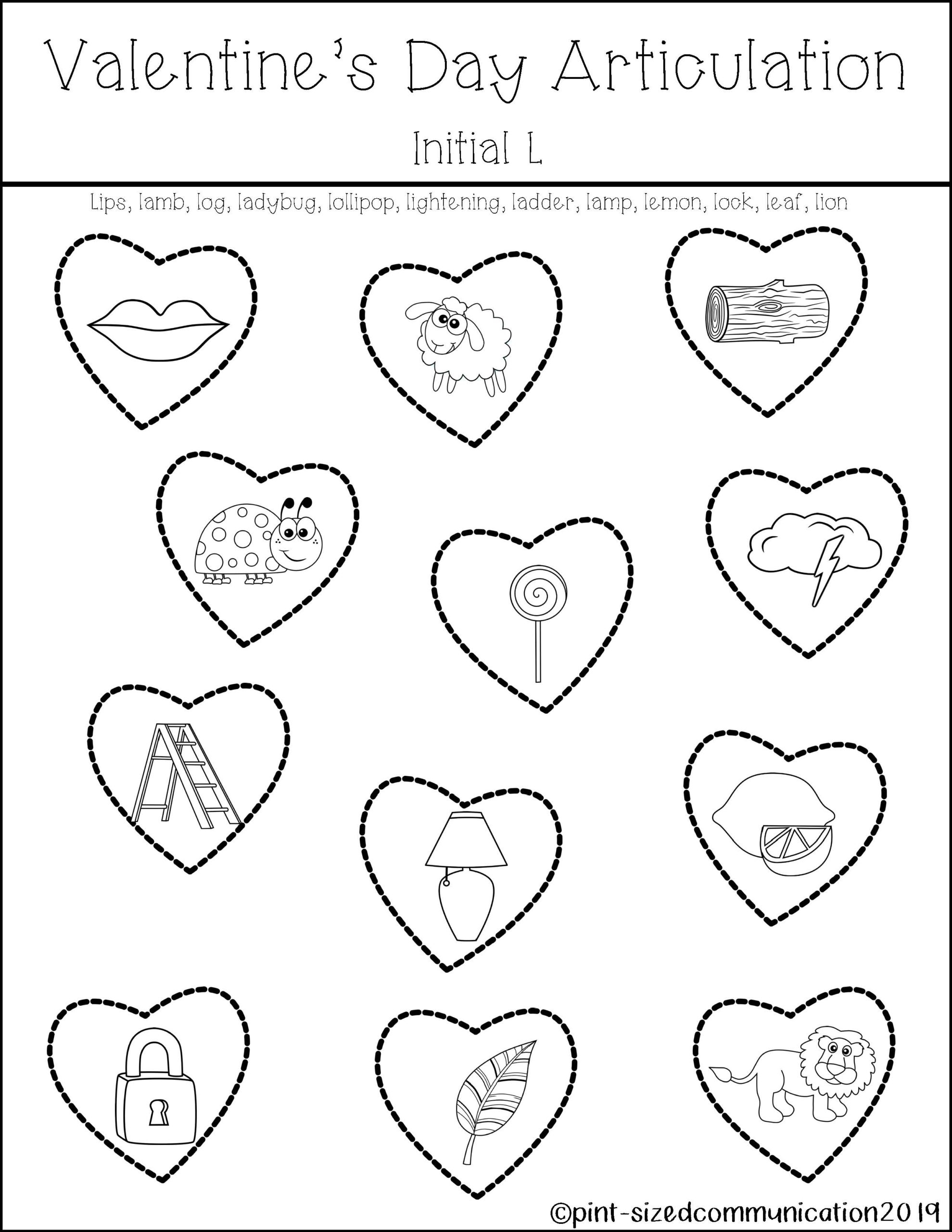 Christmas Articulation Worksheets | Printable Worksheets And