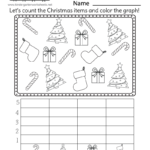 Christmas Bar Graph Worksheet - Free Printable, Digital, & Pdf