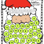 Christmas Board Game From Christmas Math Games, Puzzles And