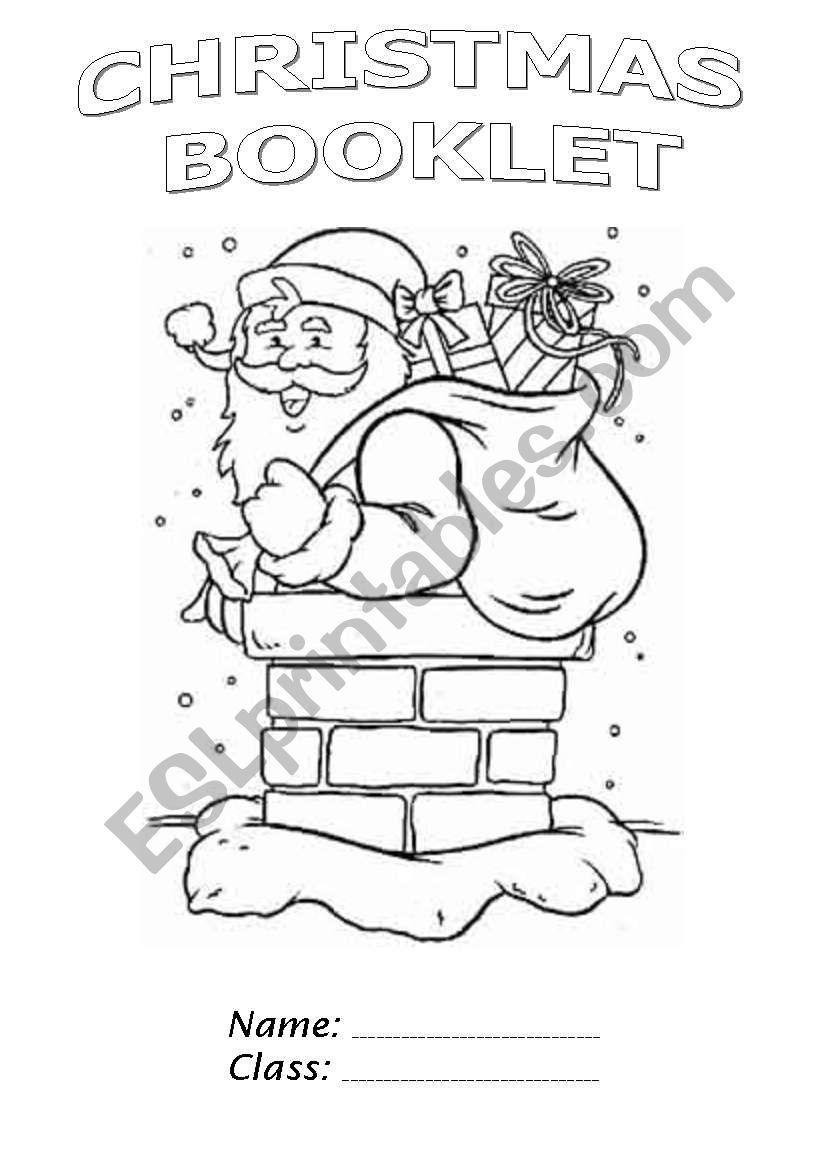 Christmas Booklet Part 1 - Esl Worksheetchiaretta