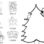 Christmas Card. Decorate The Tree - English Esl Worksheets