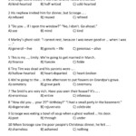 Christmas Carol - Vocabulary Worksheet