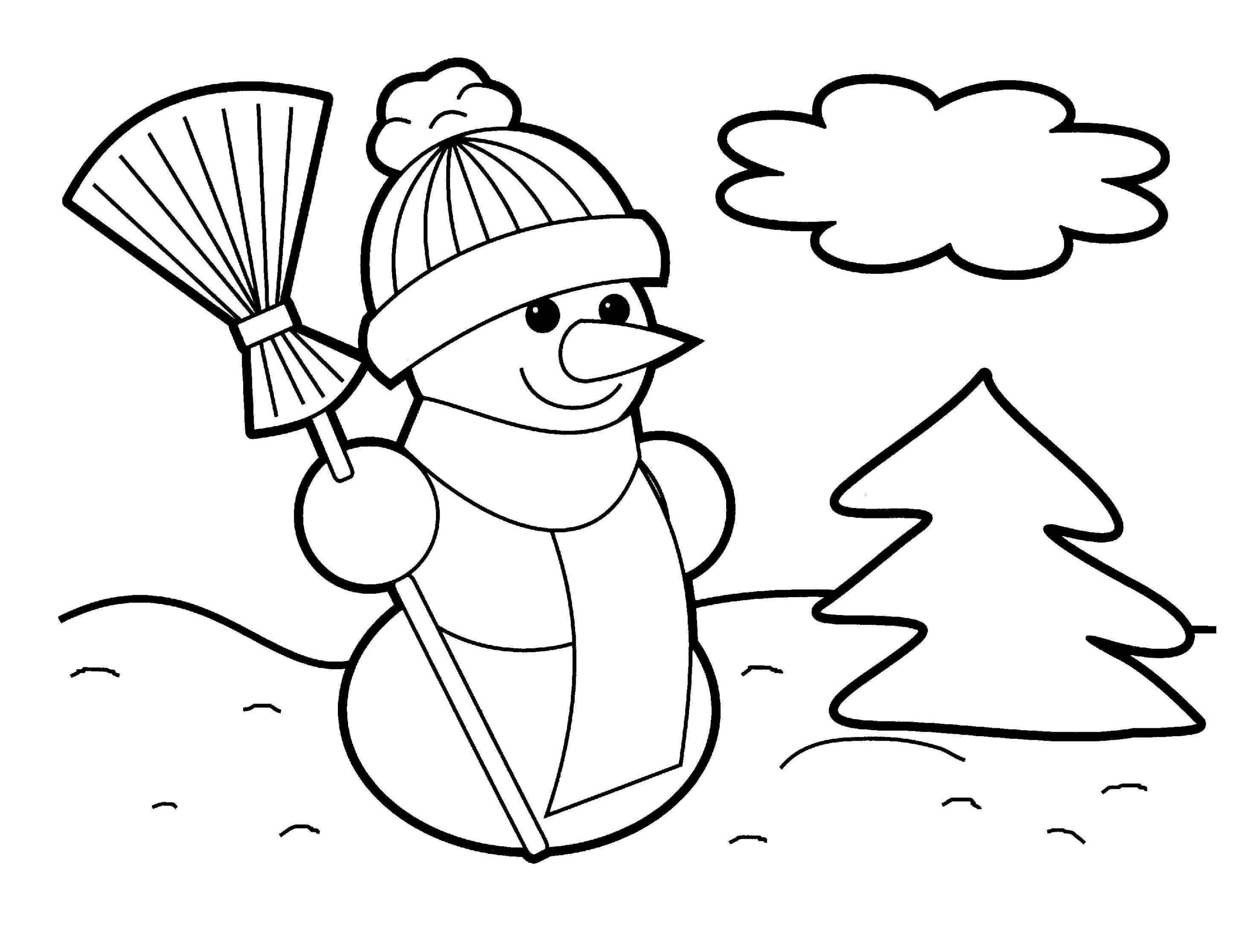 Christmas Coloring Pages - Free Large Images | Christmas