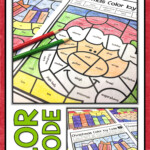 Christmas Coloring Pages Parts Of Speech Colornumber
