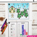 Christmas Count And Graph   Kindergarten Worksheets, Shapes