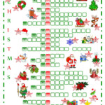 Christmas Crossword | Christmas Crossword, Christmas