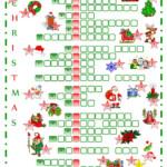 Christmas Crossword | Christmas Crossword, Christmas