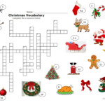Christmas Crossword - English Esl Worksheets For Distance