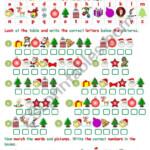 Christmas Cryptogram - Esl Worksheetjecika