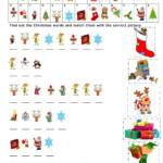 Christmas Cryptogram Worksheet