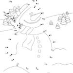 Christmas Dot To Dot : 24 Free Dot To Dot Printable