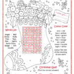 Christmas Fun … | Christmas Worksheets, Christmas Lesson