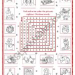 Christmas Fun Word Search - Esl Worksheetchiaretta