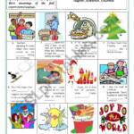 Christmas - Idioms & Sayings (With Key And Explanations