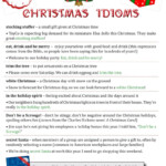 Christmas Idioms To Get You In The Holiday Spirit! | English