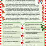 Christmas Is Coming : Christmas Reading Comprehension