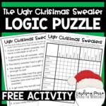 Christmas Logic Puzzle Activity   Store - Lindsay Perro