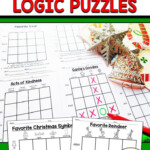 Christmas Logic Puzzles | Christmas Learning Activities
