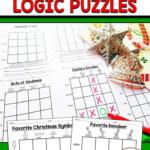 Christmas Logic Puzzles   Christmas Teaching, Christmas