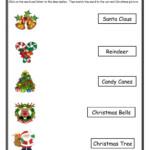 Christmas Matching 2 Worksheet