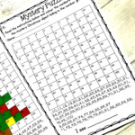 Christmas Math Mystery Puzzles, Number Grids - Teaching Autism