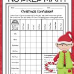 Christmas Math Worksheets | Christmas Math Worksheets, Math