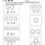 Christmas Math Worksheets For Kindergarten - Hatunisi