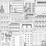Christmas Math Worksheets Grades 3-5 - Teaching Tidbits And More