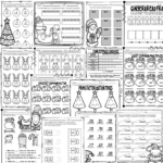 Christmas Math Worksheets Grades 3-5 - Teaching Tidbits And More