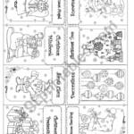Christmas Mini Book*** - Esl Worksheetsnowflake33
