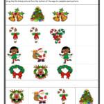 Christmas Patterns Worksheet