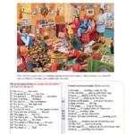 Christmas Prepositions Worksheet