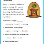 Christmas Reading Comprehension For Grade 3 - Your Home Teacher