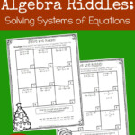 Christmas Riddles: Solving Systems Of Linear Equations