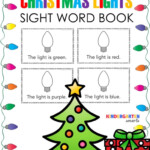 Christmas Sight Word Book With A Freebie - Kindergarten Smarts