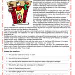 Christmas - Stocking - English Esl Worksheets For Distance