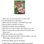 Christmas Story Movie Trivia Quiz - English Esl Worksheets