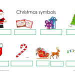Christmas Symbols - English Esl Worksheets For Distance