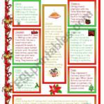 Christmas Traditions - Esl Worksheetmowells