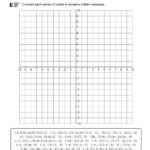 Christmas Tree Coordinate Grid Worksheet | Printable