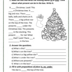 Christmas Tree - English Esl Worksheets For Distance