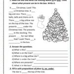 Christmas Tree - English Esl Worksheets For Distance