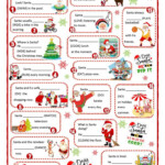 Christmas With Santa - Present Simple Or Present Continuous