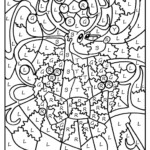 Colornumber Coloring Pages | Christmas Coloring Pages