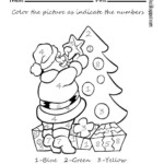Colournumber Worksheet - Free Esl Printable Worksheets