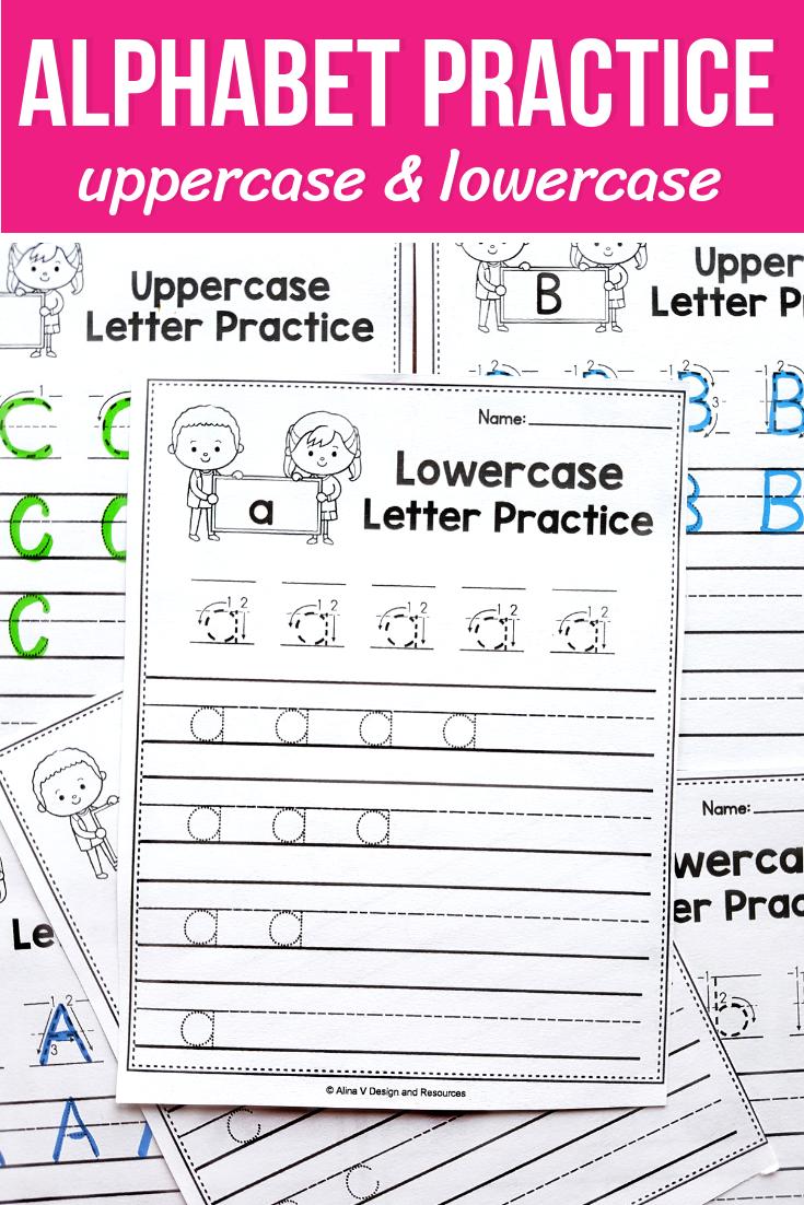 Correct Letter Formation, Alphabet Tracing Worksheets