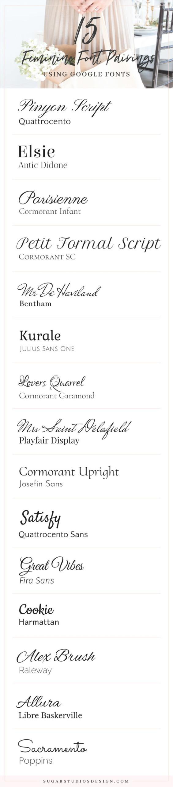 Cursive Font Google Docs