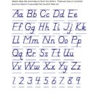 D Nealian Handwriting Worksheets | Crystal Hoffman